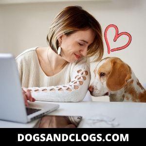 Dog Showing Affection